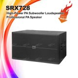 """Srx728sは18 """"スピーカーのキャビネットSubwoofer二倍になる"""