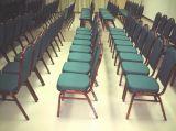Cadeira Stackable do banquete do metal do hotel (CY-8074)