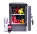 Mini refrigerador eletrônico 15liter, DC12V AC100-240V em refrigerar e no aquecer para o carro, HOME, uso do escritório