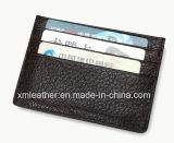 Владельца карточки кожи бумажника кредитной карточки случая карточки 2015
