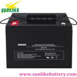 Bateria solar acidificada ao chumbo 12V45ah das ligações iniciais do AGM do ciclo profundo