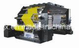 Farben-flexographische Druck-Film-Maschine der hohen Präzisions-vier