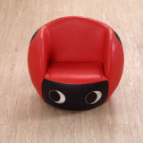 De haute qualité confortable Kids Ladybug Round Shape Sofa / Kids Furniture