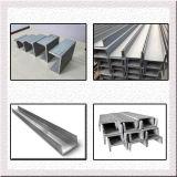 Tipo de aço aço da canaleta estrutural U como o material de construção