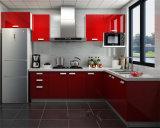 2015 현대 Kitchen Designs 또는 Kitchen Furniture/Red Kitchen Cabinets Design