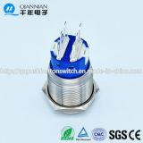 Qn19-C7 19mm momentan|Verriegeln des erhöhten Edelstahl-Drucktastenschalters des Kopf-IP67