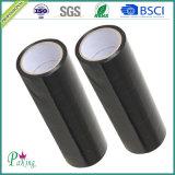 Bon ruban adhésif de la couleur BOPP de noir de qualité pour l'emballage de carton