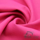 Agua y de la ropa de deportes tela tejida chaqueta al aire libre Viento-Resistente 100% de la pongis del poliester del telar jacquar de la tela escocesa abajo (E073)