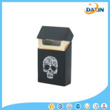 Caixa de cigarro de venda quente do silicone do teste padrão do crânio