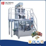 Premade rotatorio Pouch Packing Machine con Linear Weigher