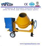 17.65 kubieke van het Staal van de Trommel van de Ring van het Toestel van de Dieselmotor van de Draagbare Voeten Mixer van China Concrete