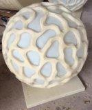 사암 공 조각품 정원 훈장을%s 오디오 스피커 LED 램프 손전등