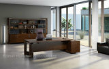 Nuevo Design Office Wooden Executive Table con Side Cabinet (HF-01D25)