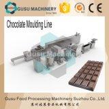 Máquina de molde de enchimento do chocolate de duas cores