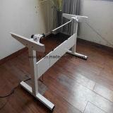 Secretária de escritório, uso específico e ferro tipo de metal, mesa ajustável em altura