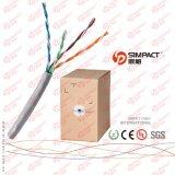 La UL, CE, RoHS aprobó el cable de UTP Cat5e