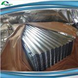 0.21mm гальванизированный экспорт листов толя цинка Coated Corrugated к эфиопии