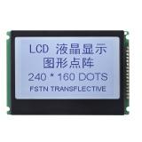灰色白LCDの表示のタッチ画面