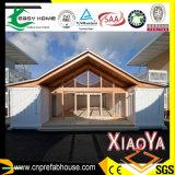 Casas portables de acero ligeras prefabricadas, casa del envase de los 20FT