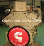 motor marina del barco de pesca del motor diesel de 1100HP 1800rpm Cummins
