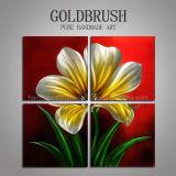 장식을%s 현대 간단한 꽃 벽 예술/금속 유화