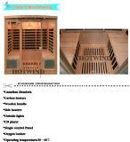 Sauna de madera del infrarrojo lejano 2016 del sitio portable de la sauna para 4 personas (SEK-I4)