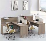 Poste de travail central moderne de cube en bureau de personnel avec le meuble d'archivage (SZ-WS605)