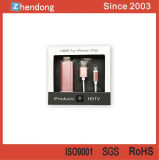 Cable del adaptador de HDMI TVAD para el teléfono