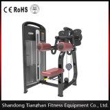 Forma fisica della strumentazione di ginnastica/aumento laterale che esercita la macchina di forma fisica del corpo