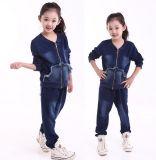 Фуфайка Hoodies костюма следа способа отдыха в одеждах детей для износа Swg-127 спорта