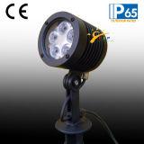 5W indicatore luminoso del giardino di paesaggio del CREE LED con la base del montaggio (JP83551)