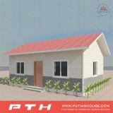 Camera prefabbricata della villa dell'acciaio chiaro piccola per la vita residenziale provvisoria