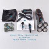 Kemei6182 profesional 2 en 1 condensadores de ajuste principales de la máquina de afeitar eléctrica 5 y del pelo de nariz