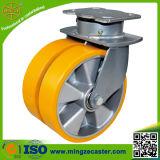 Gesamtlkw-Extrahochleistungsfußrolle Wheel&#160 der bremsen-12inch;