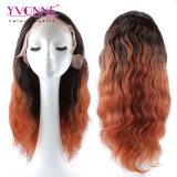 Parrucca piena brasiliana del merletto dei capelli umani di prezzi di fabbrica di alta qualità