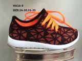 O esporte da forma das sapatas ocasionais da injeção das crianças calç as sapatas Running (HH16-9)