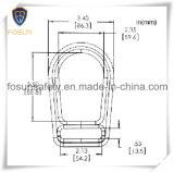 Anéis-D chapeados zinco da fábrica de aço de qualidade superior