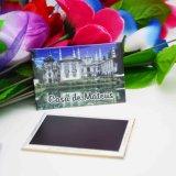 Magnete personalizzato del metallo della foto del ricordo della decorazione del frigorifero