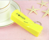 Banco novo do banco de 2016 Design Colorful Mobile Phone Gift Lipstick Portable Power/2600mAh Power para Phone