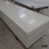 壁パネルのための12mmの公害防止の白いアクリルの固体表面