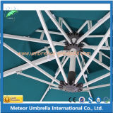 Самомоднейший алюминиевый квадратный зонтик Sun патио для напольных сада/пляжа