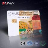 Sle5542 Impression couleur en option Plasitic Contact IC Memery Chip Card