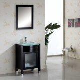 Governo diritto di vanità della stanza da bagno del pavimento con lo specchio del bagno