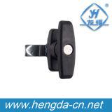아연 합금 가구 내각 T 손잡이 자물쇠 (YH9679)