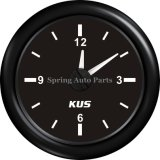 Популярное Waterproof 52mm Clock Meter Clock Gauge 12-Hour с Backlight