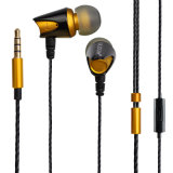Mobile Phoneのための方法Newest Earbuds Metal Earphone