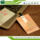 최신 신용 카드 주문 USB 지팡이 섬광 드라이브 (uwin-054)