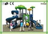 Cour de jeu extérieure en plastique de petite taille de la qualité LLDPE pour le parc d'attractions d'enfants