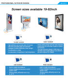 65 '' affissione a cristalli liquidi Display del LED Backlit Large Outdoor Advertisement con Touch Screen