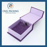 Romantischer purpurroter Schmucksache-Verpackungs-Geschenk-Kasten (CMG-PJB-031)